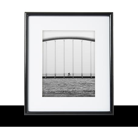 8x10 Black Frame