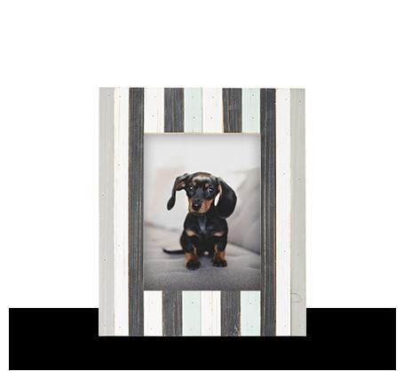 6x8 Vertical Stripe Frame