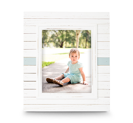 8x10 Horizontal Stripe Frame