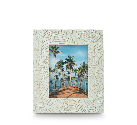 6x8 Carved Tropical Frame
