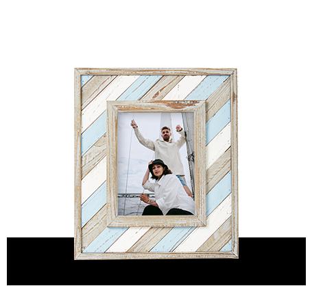 6x8 Diagonal Stripe Frame